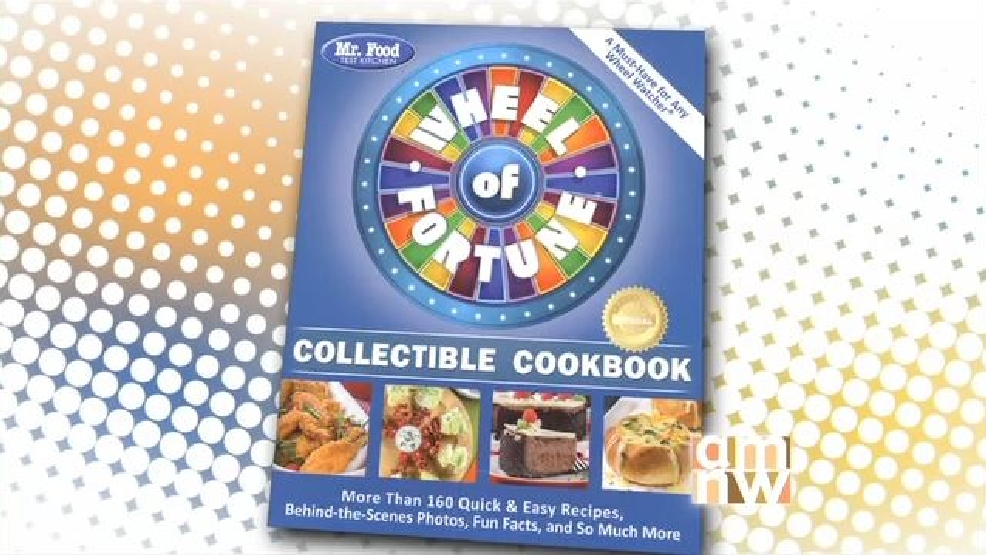 wheel of fortune cook books