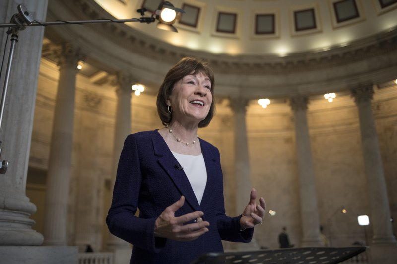Sen. Collins (Photo: Associated Press)<p></p>
