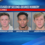 Three teens arrested in McDonald's robbery
