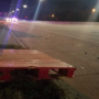 Several cars damaged after wooden pallets fall onto I-244