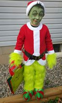 Kaden the Grinch. Submitted by Erin Root
