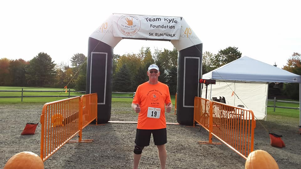 Allyn Genest, 67, set a goal to run 67 road races this year. By the end of November, he will have run in 80 (Courtesy: Allyn Genest).