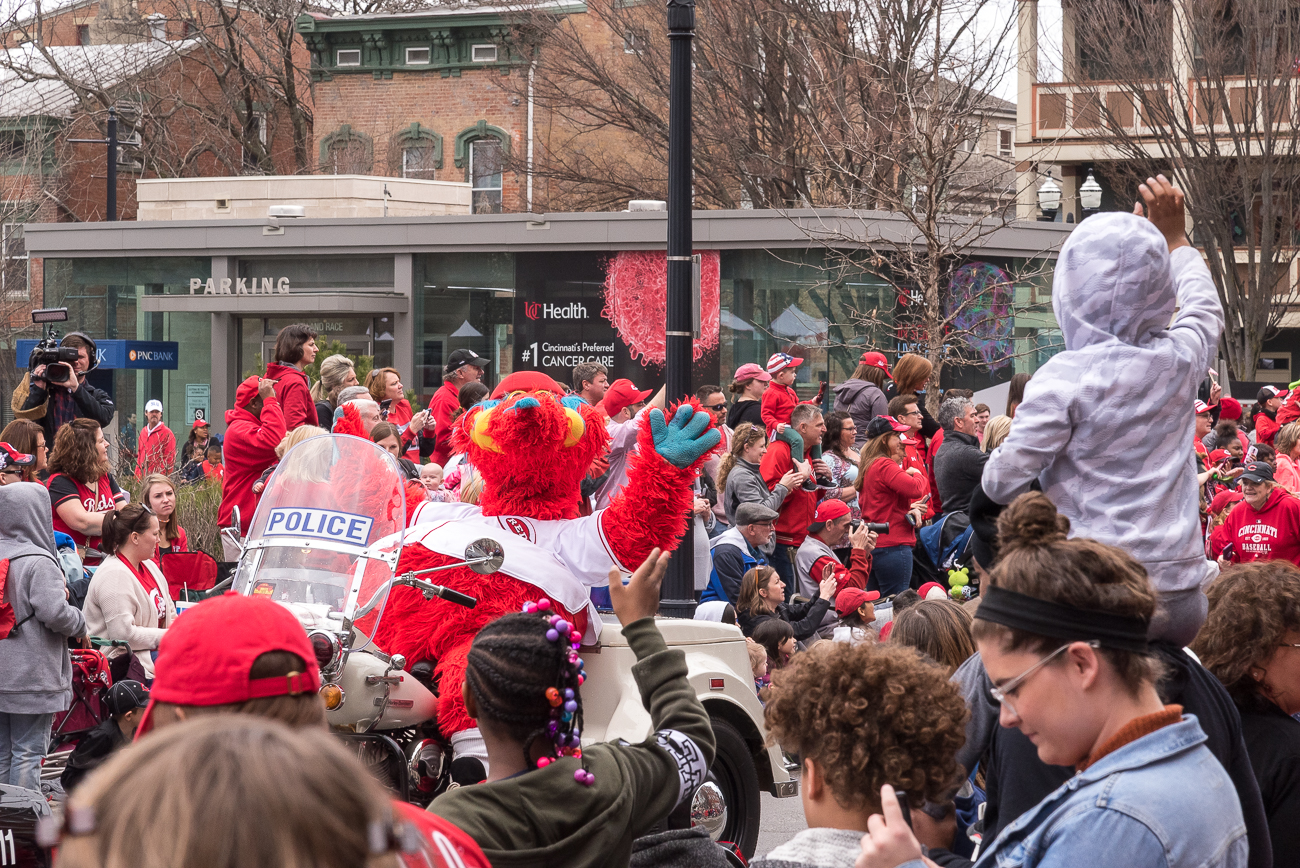 Hello, Gapper! / Image: Phil Armstrong, Cincinnati Refined // Published: 3.29.18