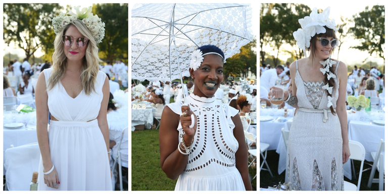 "The famed ""pop-up picnic"" will return to D.C. for a fourth year this Saturday, August 26. Per usual, the attire is strictly head-to-toe white, and you don't want to be left without something ""tres-chic"" to don. To help you out, we've rounded up a few of our favorite dresses, skirts, blouses, heels, baubles and bags that fit the dress code, all of which can be found locally. (All images by Amanda Andrade-Rhoades/ DC Refined)"