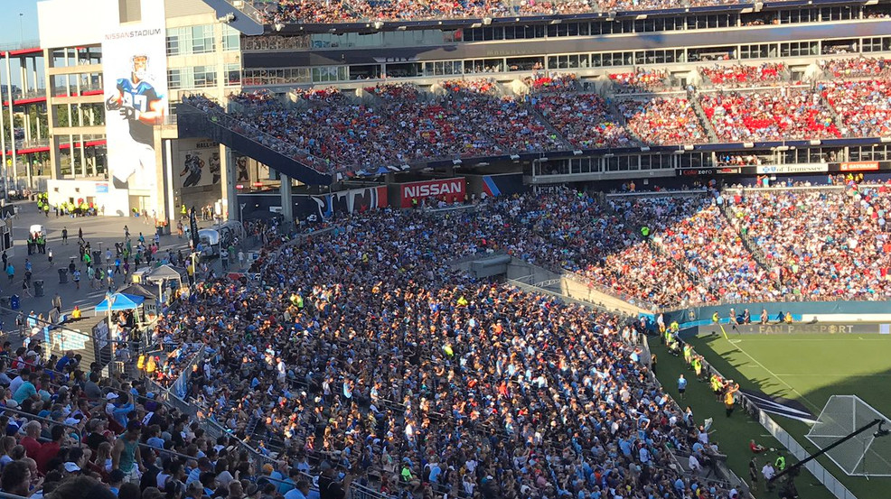 International soccer returns to Nissan Stadium in Nashville this summer