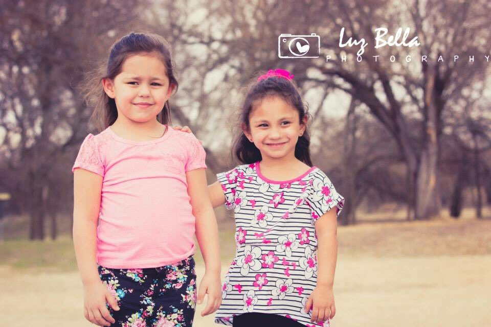 Rihanna Ward, left, and Emily Ward, right, are 9 and 8 respectively. They were at the First Baptist Church in Sutherland Springs, Texas, on Sunday, Nov. 5, 2017 during the fatal shooting. Rihanna is uninjured; Emily was shot and is in surgery. (Photo: SBG San Antonio)