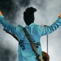 Prince's teal blue Cloud guitar auctioned for $700K