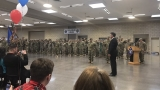 Nevada welcomes home 250 troops as new commander-in-chief takes office