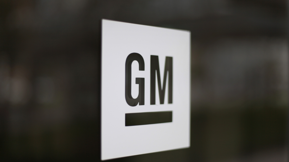 This Friday, May 16 2014 file photo shows the General Motors logo at the company's world headquarters in Detroit. (AP Photo/Paul Sancya, File)