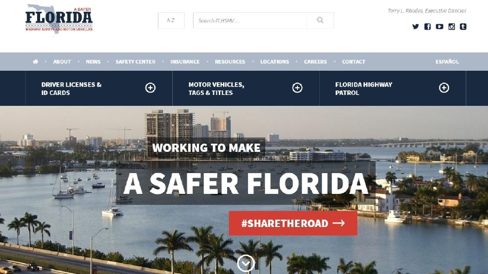 Florida DMV website down this weekend