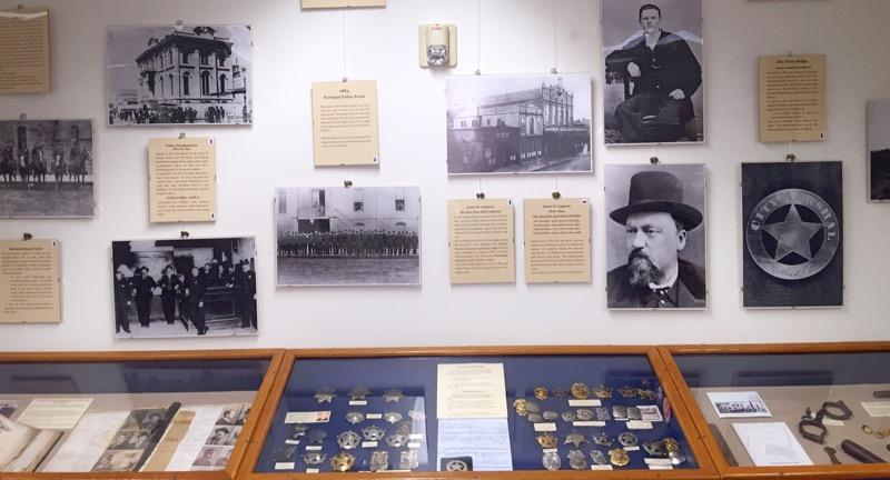 A display at the Portland Police Museum &amp;amp; Historical Society. (KATU)<p></p>