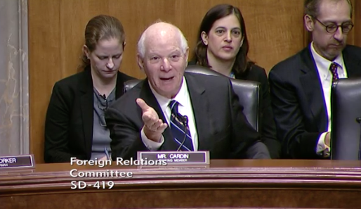 RPhoto: Senate Foreign Relations Committee / Ranking Member Ben Cardin, D-M.d<p></p>