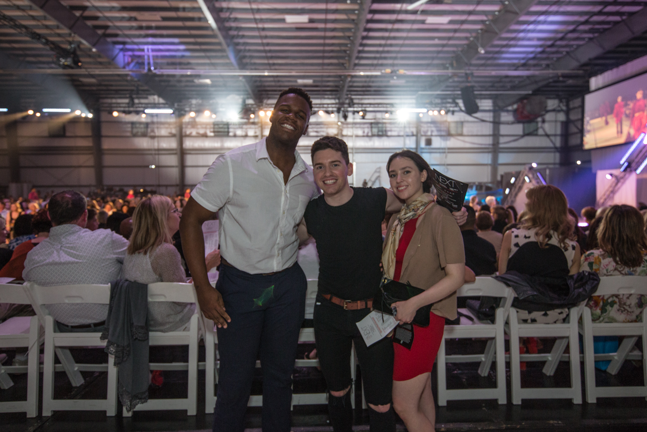 Donelle Parker, Alec Wood, and Becky Jewell /{ }Image: Catherine Viox{ }// Published: 5.4.19