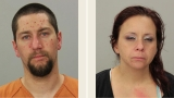 Coquille man, N. Bend woman arrested after traffic stop for license plate violation
