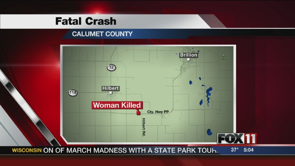 1 killed, 2 hurt in Calumet Co. crash