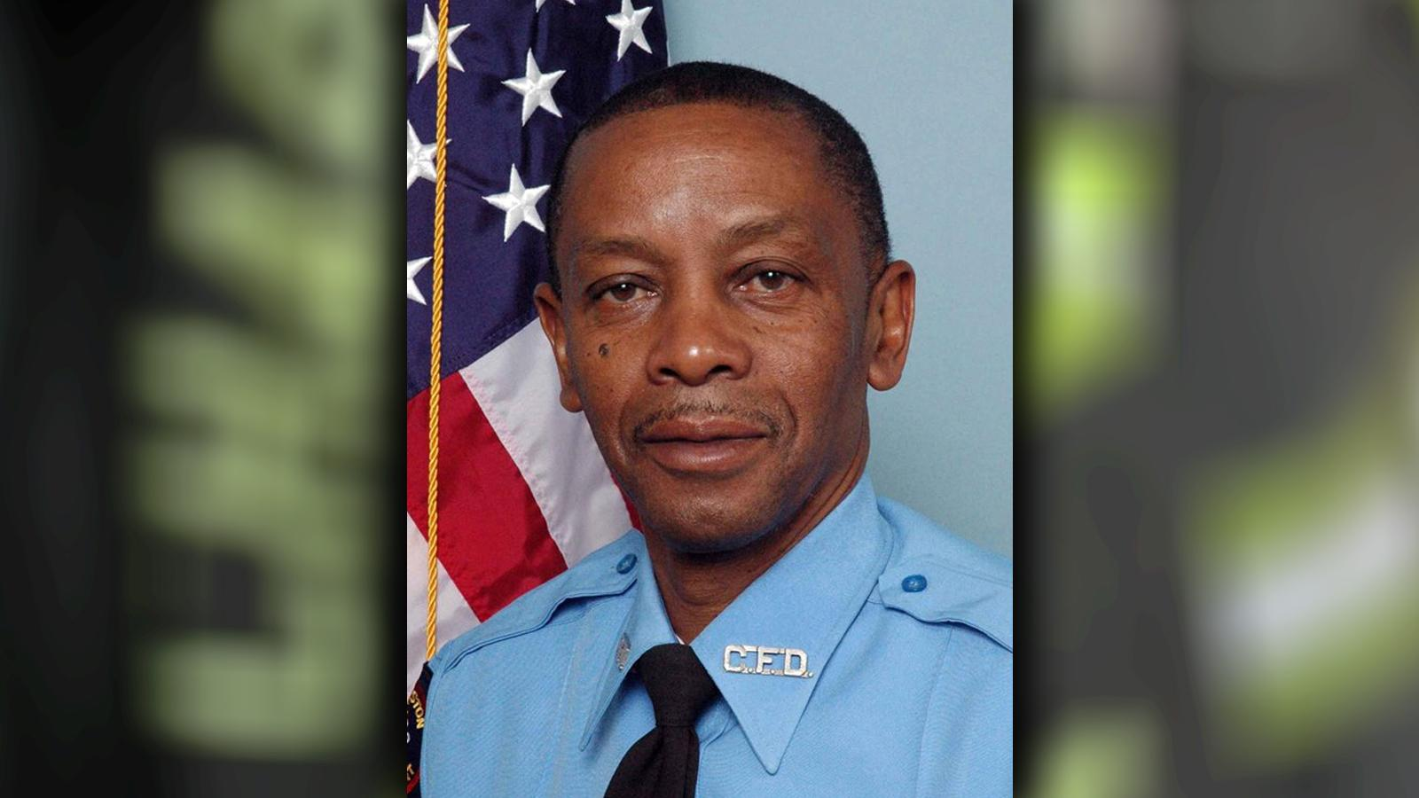 Firefighter James Earl Drayton, Engine 19, 32 years of service.  (Charleston Fire Department)