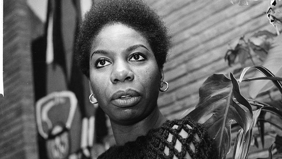 Nina Simone, was an American singer, songwriter, pianist, arranger, & civil rights activist, Photo Date: December 1965 (Photo credit: Dutch National Archives / CC BY-SA 4.0)