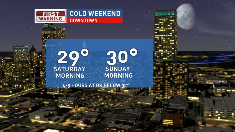 Widespread freeze likely this weekend