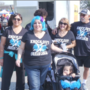 Families take steps against cancer during annual event