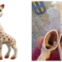 Parents complain about mold issues with Sophie the Giraffe toys