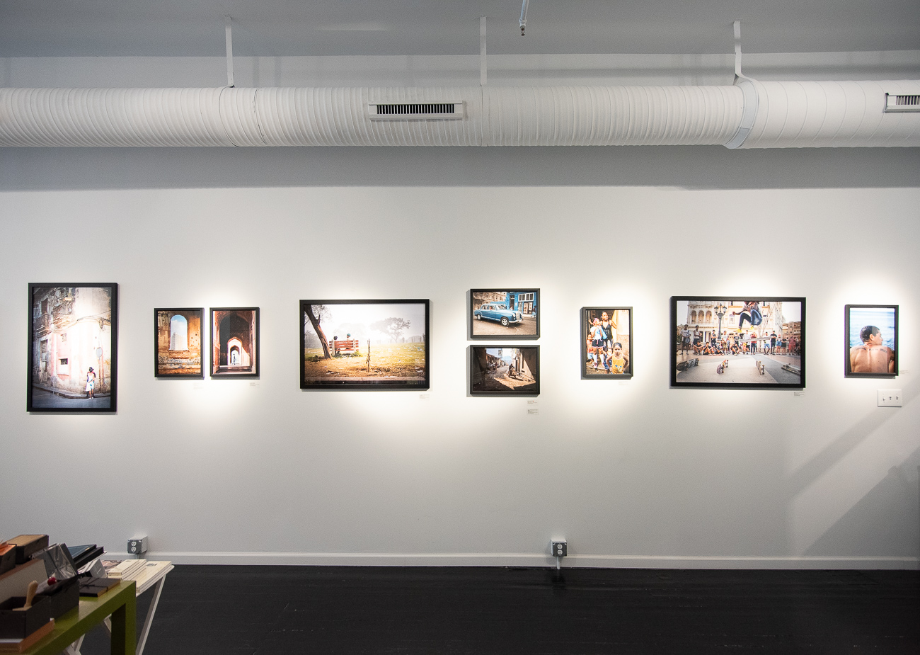 In addition to selling paper goods, the store proudly showcases local artists' works. Every Final Friday, a new artist is placed on their gallery wall. For the month of August 2019, photographer Sean Hughes' photographs of Cuba are on display. / Image: Phil Armstrong, Cincinnati Refined // Published: 8.21.19