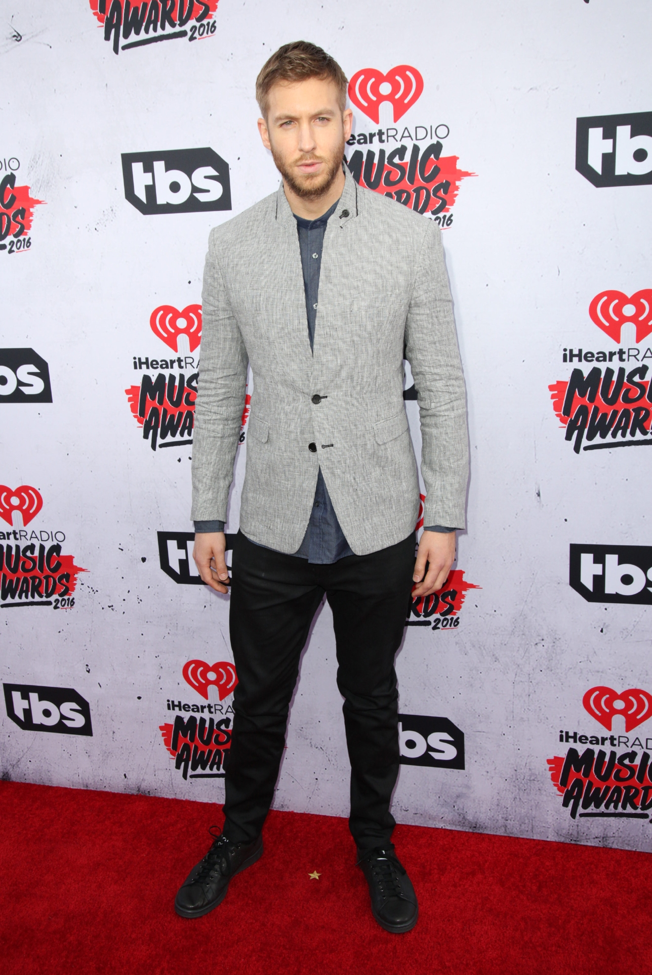 Celebrities attend iHeartRadio Music Awards at The Forum.  Featuring: Calvin Harris Where: Los Angeles, California, United States When: 04 Apr 2016 Credit: Brian To/WENN.com