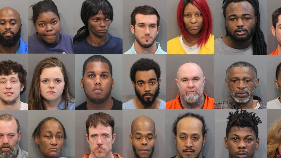 Chattanooga Police Warrant Roundup ends with 54 arrests | WTVC