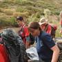 Weber County officials rescue injured woman near Causey Reservoir
