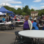 Center for Hope holds parking lot picnic lunch giveaway