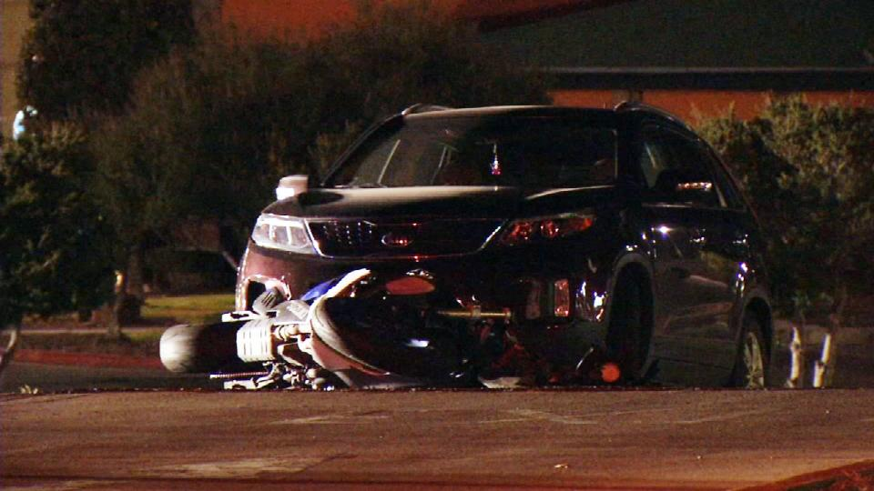 Motorcyclist dead after crash on Mesa Hills and Sunland Park