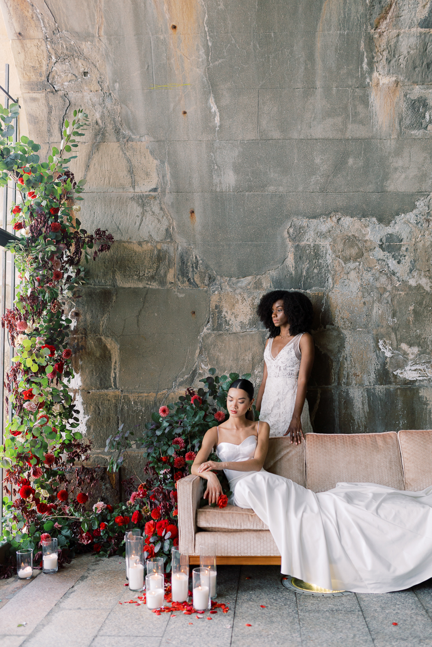 <p>Models: Amy Sheeter & Ciara Johnson / Image: Kathryn Fruge Photography // Published: 11.27.19</p>