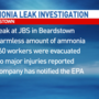 Officials investigating ammonia leak at JBS Plant