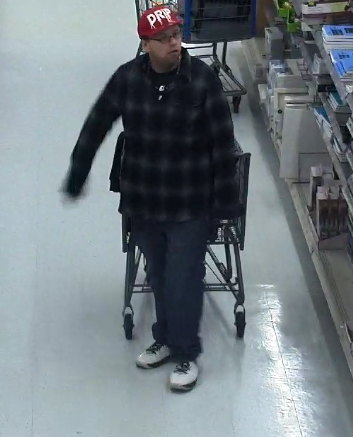 Columbus Police Division of Police is searching for a man accused of robbing a west Columbus Walmart on Sunday. (Columbus Police)