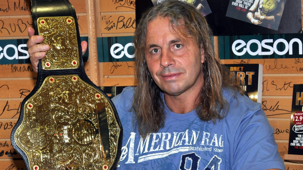 Wwe Legend Bret Hitman Hart Diagnosed With Cancer News