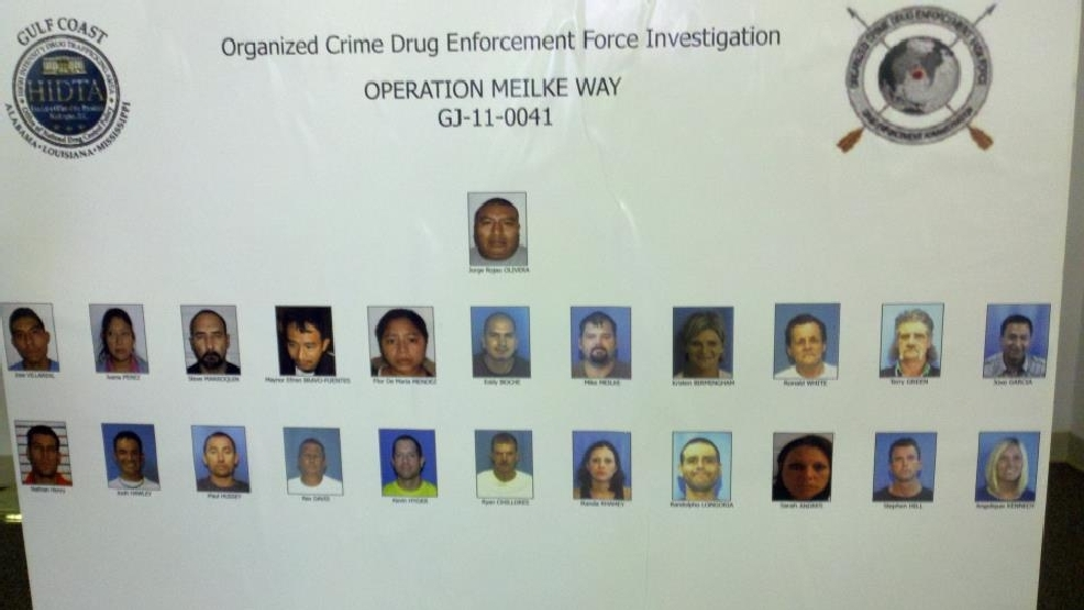 22 people in Arkansas indicted after drug bust   KATV
