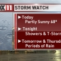 Storm Watch: Showers and storms move in tonight