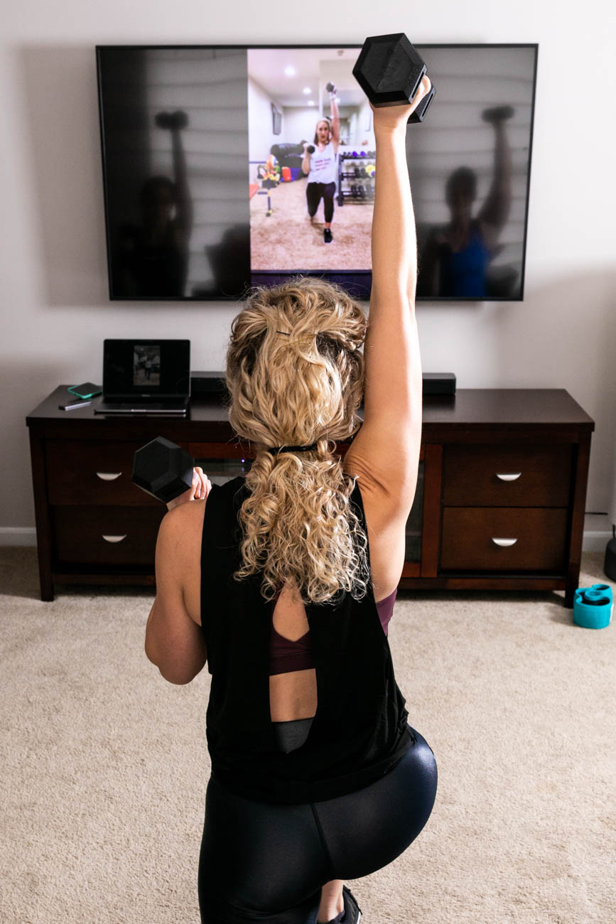 Each video is broken down into three, ten-minute sets in case you don't have a full thirty minutes to commit to a workout. This flexibility is where true habit change happens. The program also offers a supportive community where people can communicate and spread motivation amongst each other, which can help in overcoming fitness challenges. / Image courtesy of Fit Mama in 30 // Published: 12.31.19