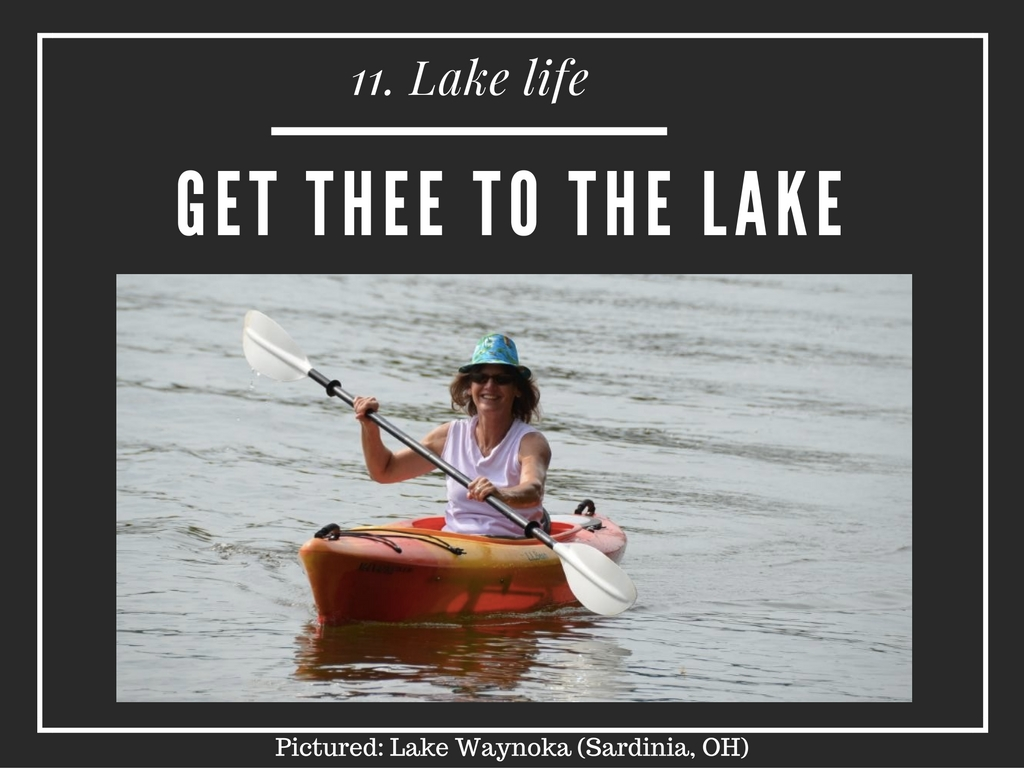 CINCY SUMMER BUCKET LIST ITEM #11: Get thee to the lake / WHERE: Anywhere you can go. Lake livin' is the best // IMAGE: Leah Zipperstein, Cincinnati Refined