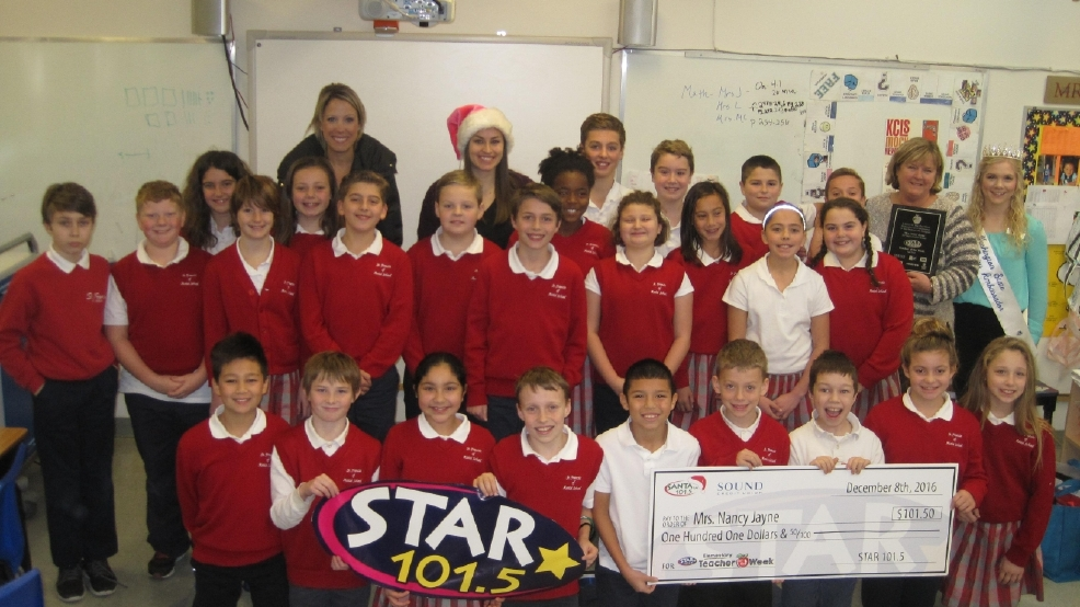 101.5 SANTA FM's Teacher of the Week: Mrs. Nancy Jayne
