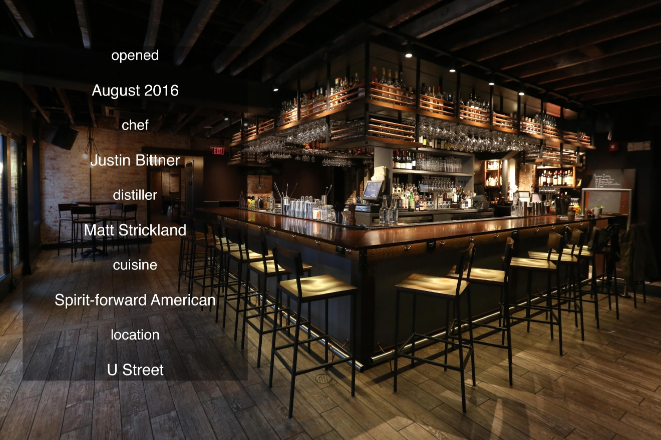 District Distilling is located at 1414 U St NW (Amanda Andrade-Rhoades/DC Refined)
