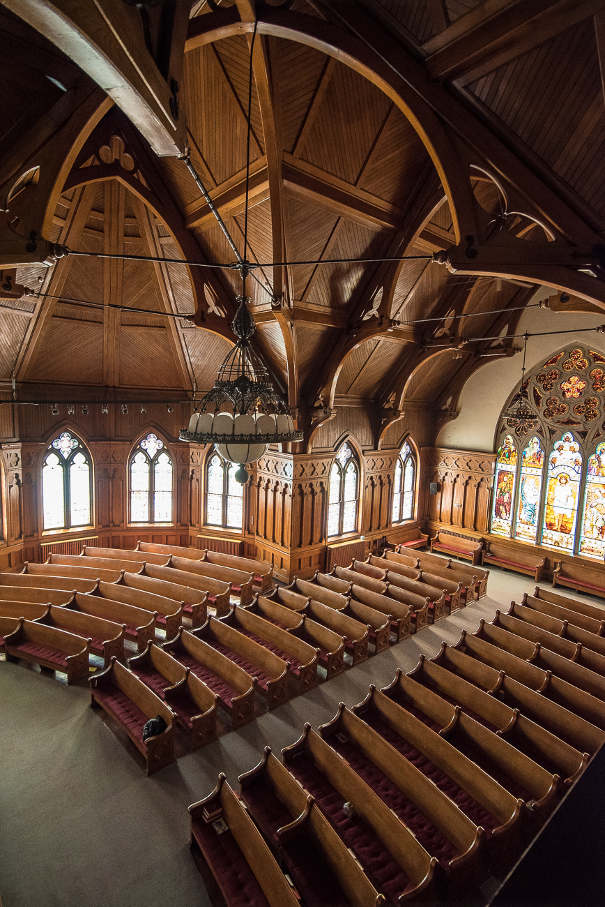Church #5: Recognize this one? / Image: Phil Armstrong, Cincinnati Refined // Published: 1.19.19