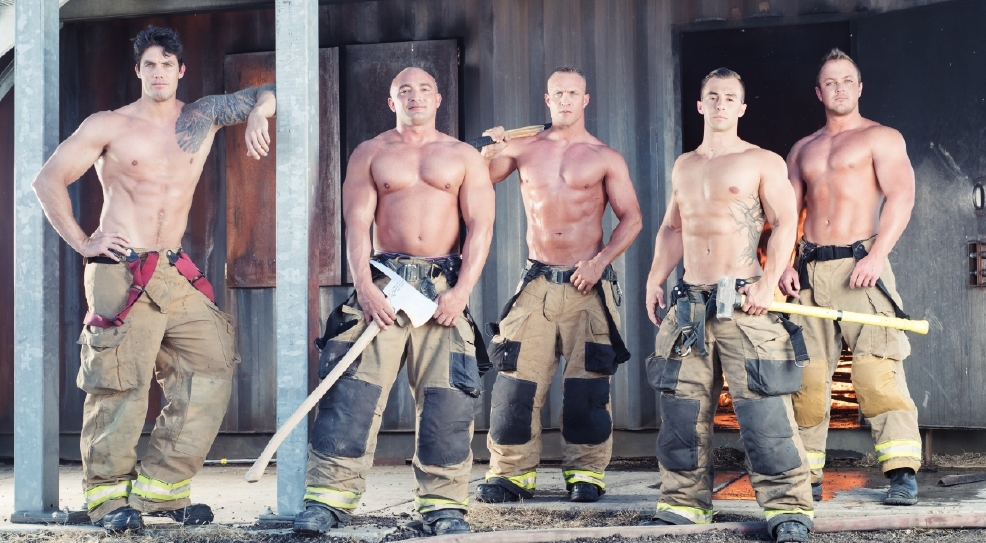 Gallery Utah Firefighters 2017 Calendar Is Hot Off The
