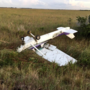 Palm Beach registered aircraft crash lands in Everglades