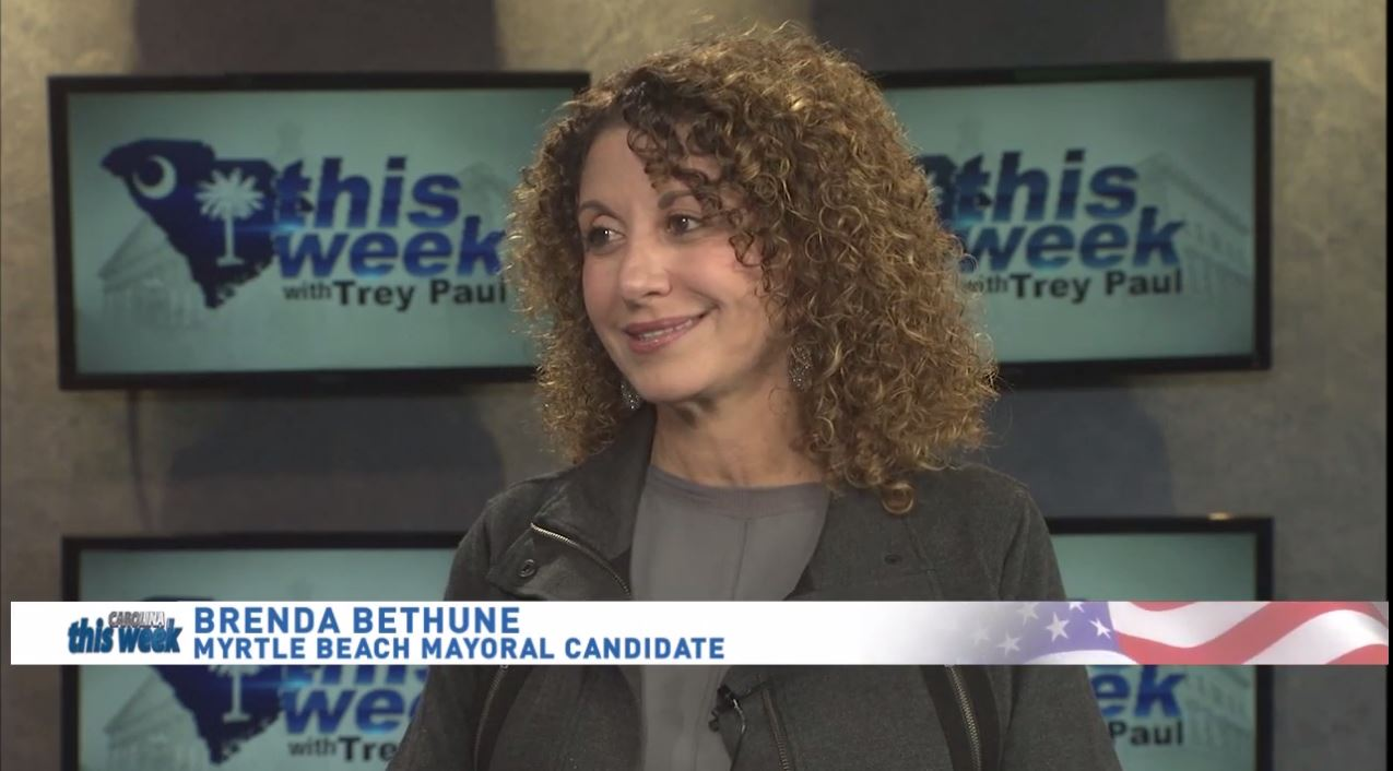 Candidate for Myrtle Beach Mayor Brenda Bethune<p></p>