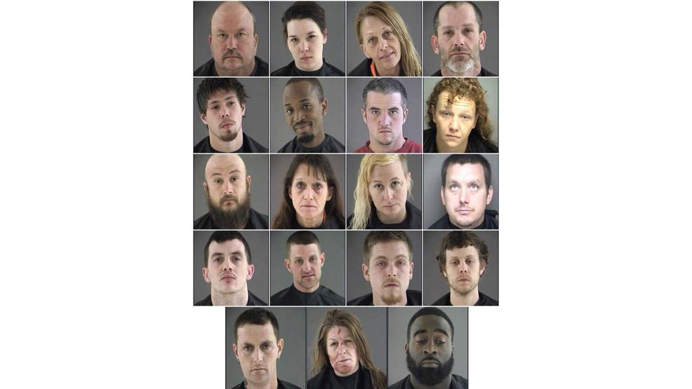 Sheriff: 29 arrested on 53 drug charges in Bedford Co  | WSET