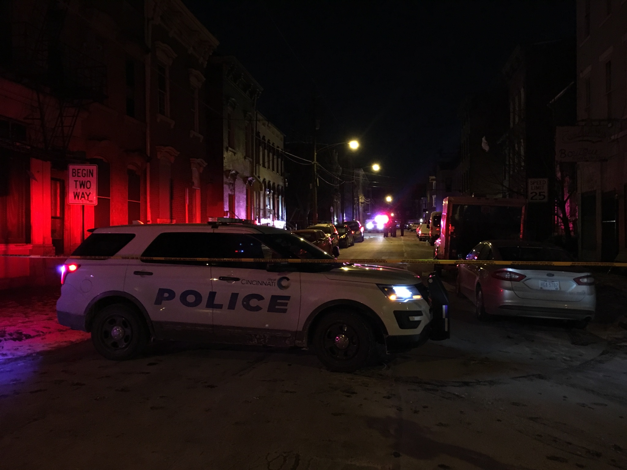 Police are investigating after someone was shot and killed in the West End Monday night (WKRC)<p></p>