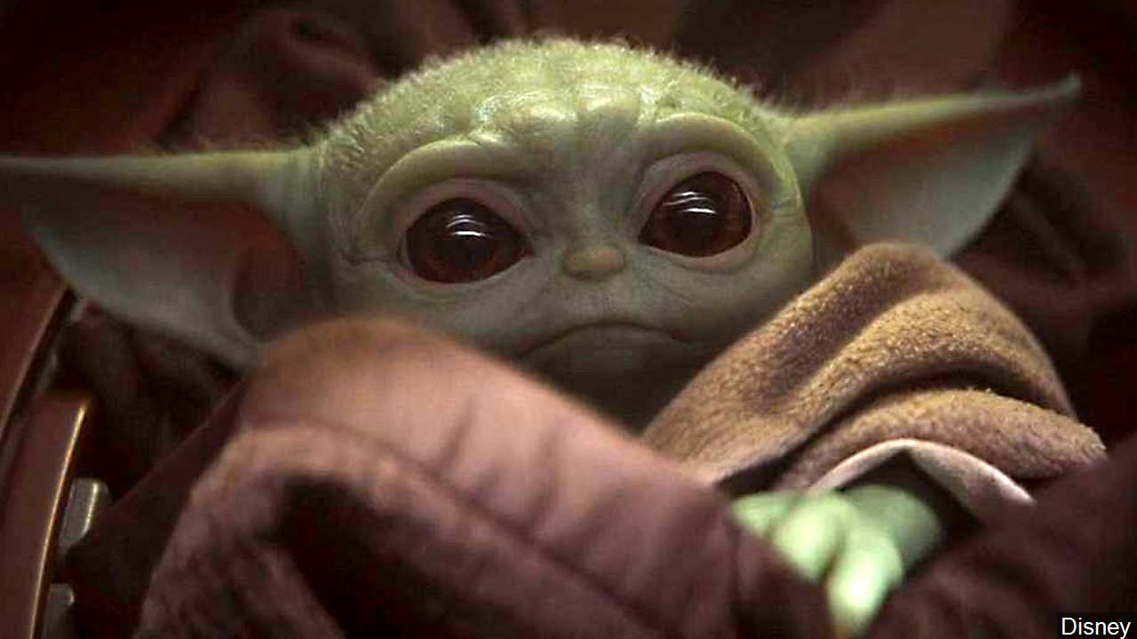 "The Child, colloquially referred to as ""Baby Yoda"" by fans, as seen in the Disney show ""The Mandalorian."" (Image: Disney)"