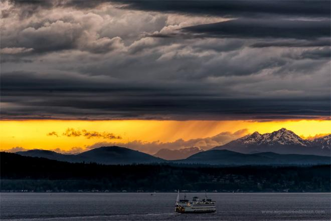 Even bad weather looks good around here! (Photo: Sigma Sreedharan Photography)