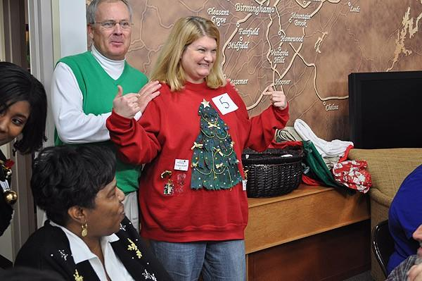 Tacky sweater contestant #5 - Gina Womack
