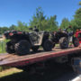 Seekonk Police confiscate unregistered ATVs and dirt bikes at McHale's Pit